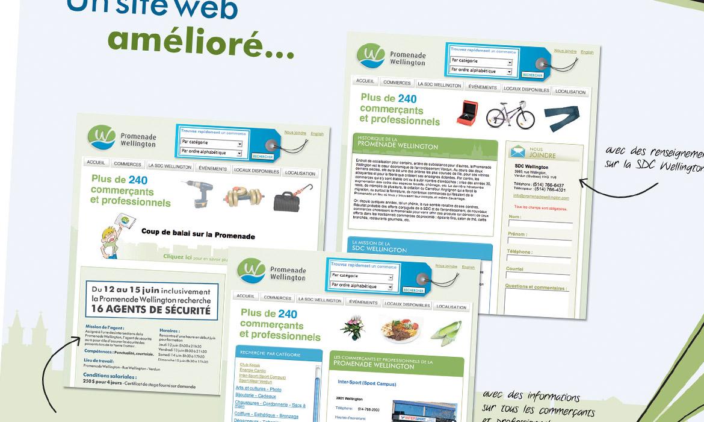 SDC Wellington conception visuel Zone Graphique